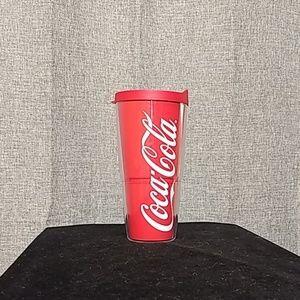 24oz Coca Cola insulated tumbler Tervis